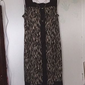 Connected Casual dress Sz 16W . New w/out Tags .